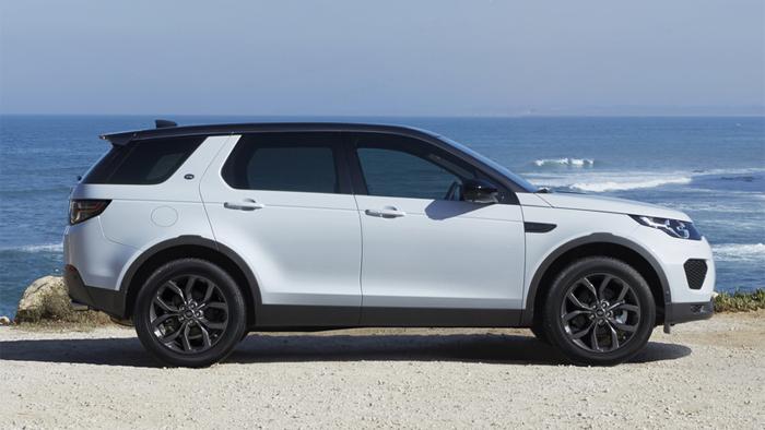 У Land Rover Discovery Landmark