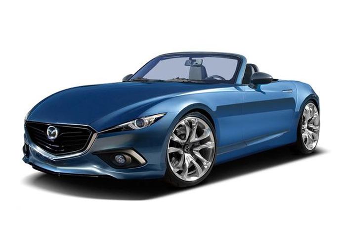 Новый родстер Mazda MX-5 представят в сентябре