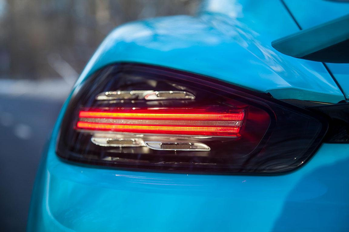 Porsche Cayman S 2017 Задняя фара