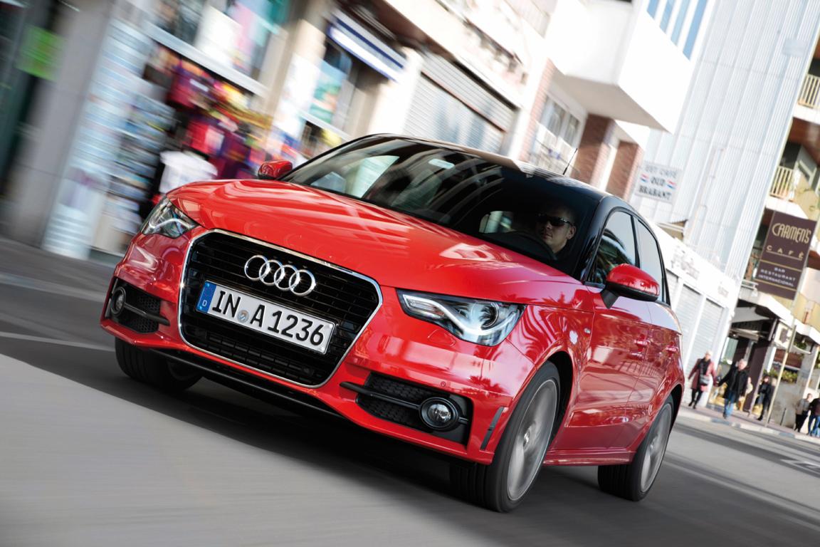 Audi A1:Пять к одному