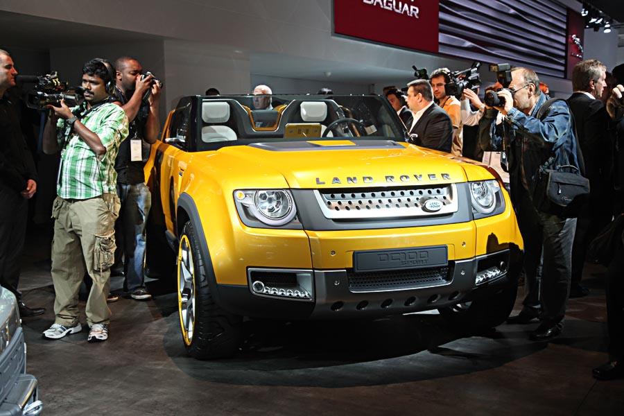 Land Rover на автосалоне во Франкфурте 2011