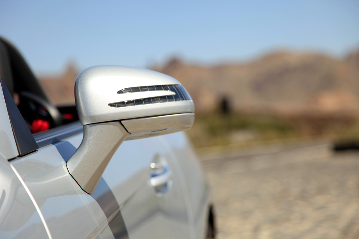 Тест Mercedes-Benz SLK:Подросток-забияка