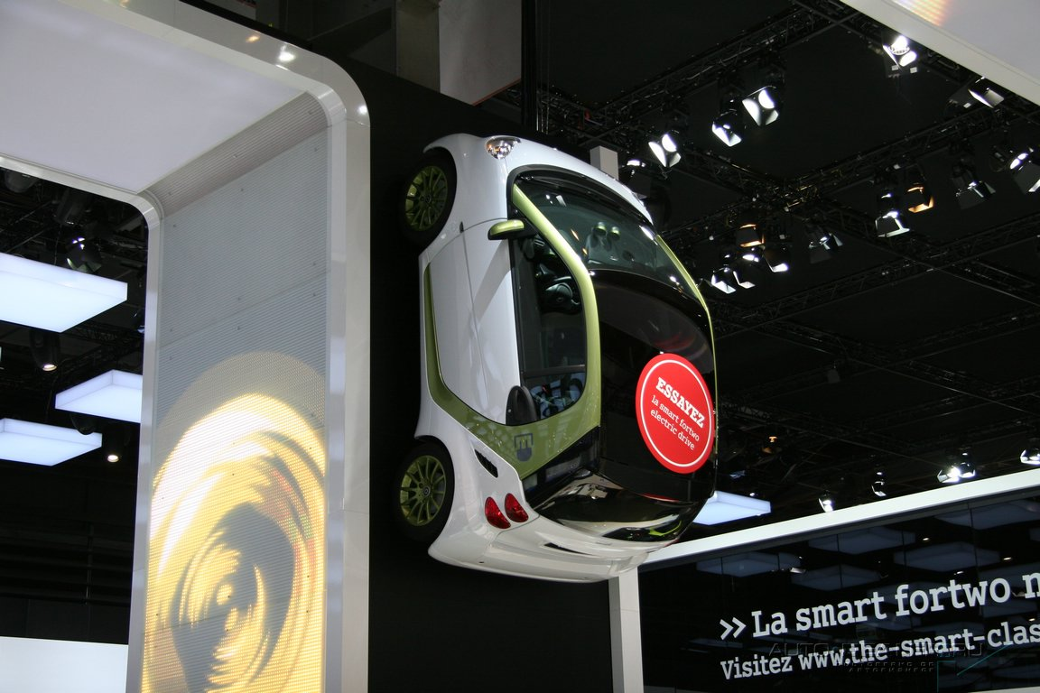 Smart на Парижском автосалоне