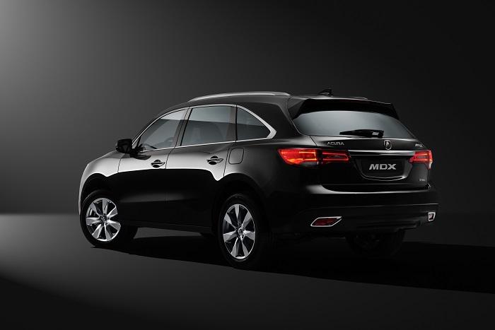 новый Acura MDX