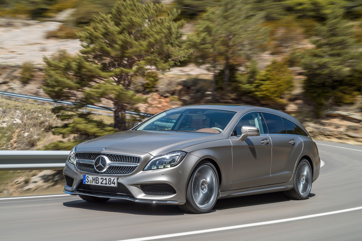 Mercedes-Benz CLS Shooting Brake 2014