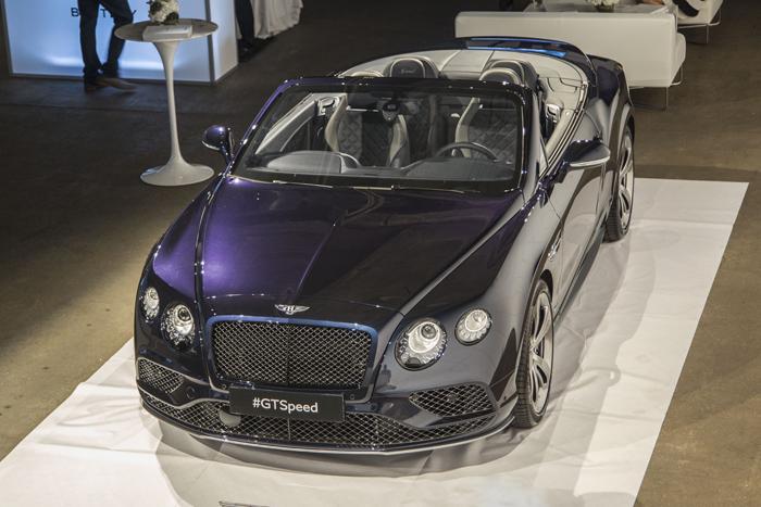 Bentley представила в Нью-Йорке новый GT Speed