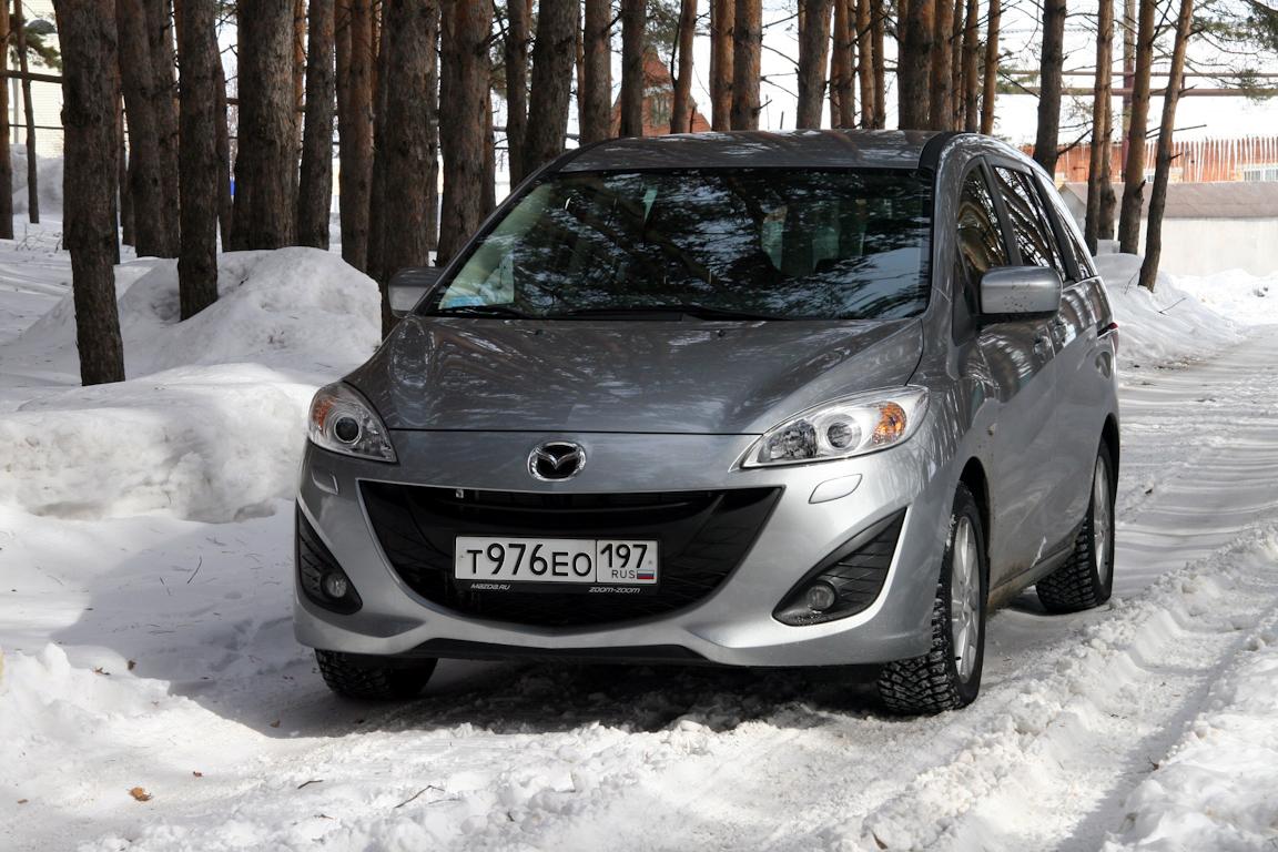 Тест-драйв Mazda5:Зажигалка для отца семейства