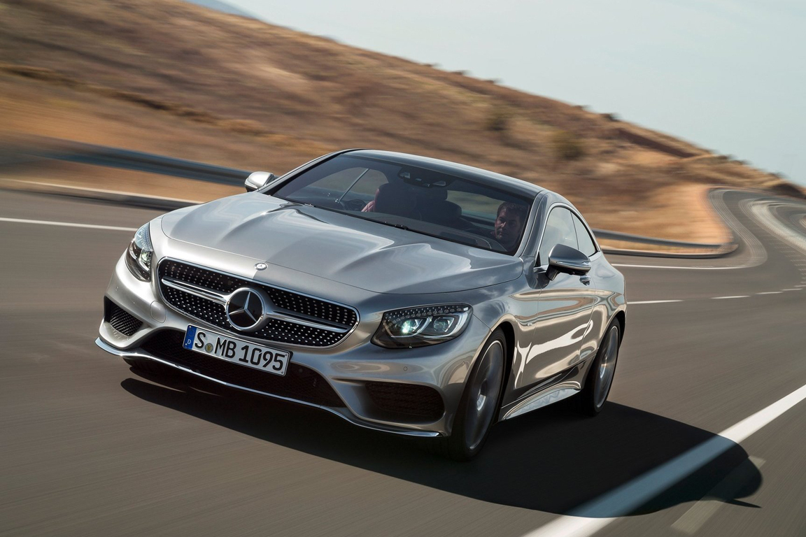 Mercedes-Benz S-class coupe (2014)