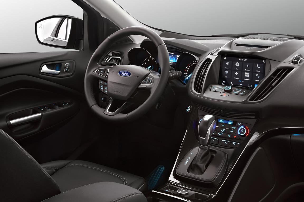 Тест-драйв Ford Kuga 2017 года