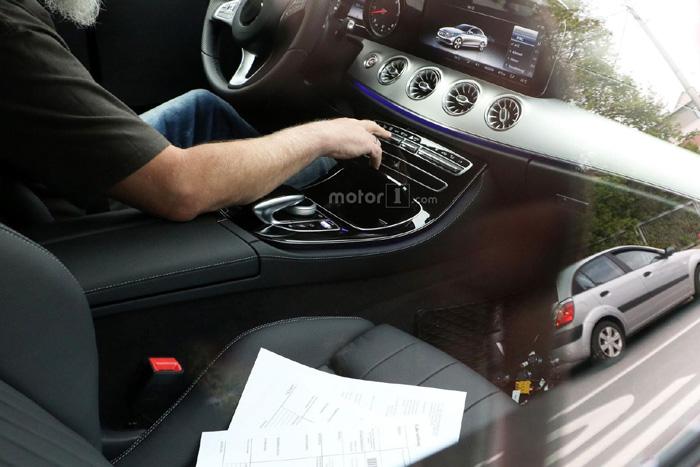 Новое купе Mercedes-Benz E-Class заметили вовремя испытаний 6