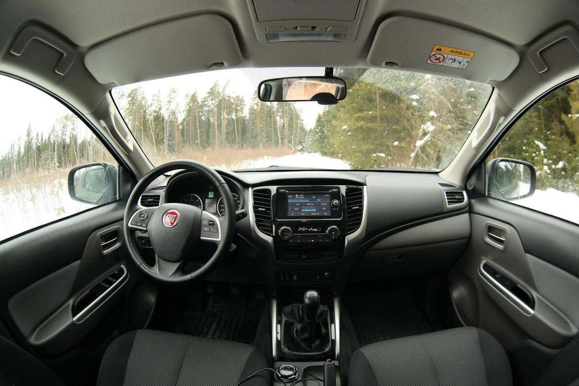 Fiat Fullback Салон