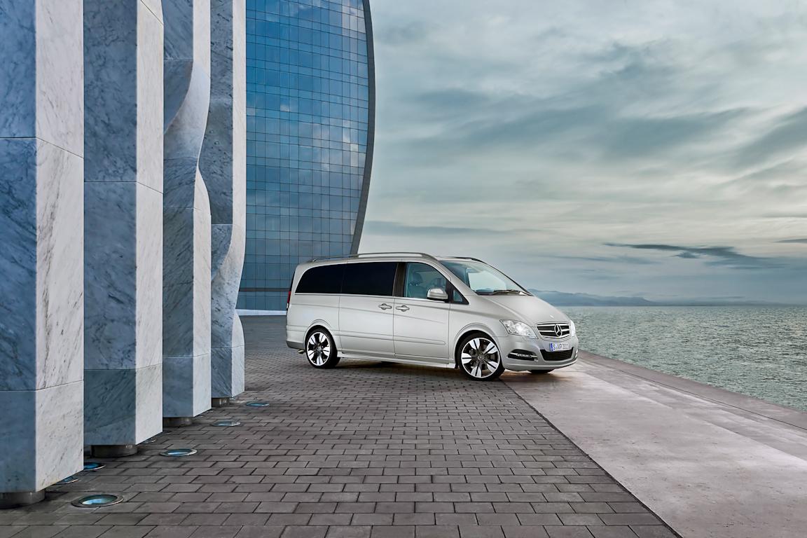 Mercedes-Benz Viano: Автобус бизнес класса