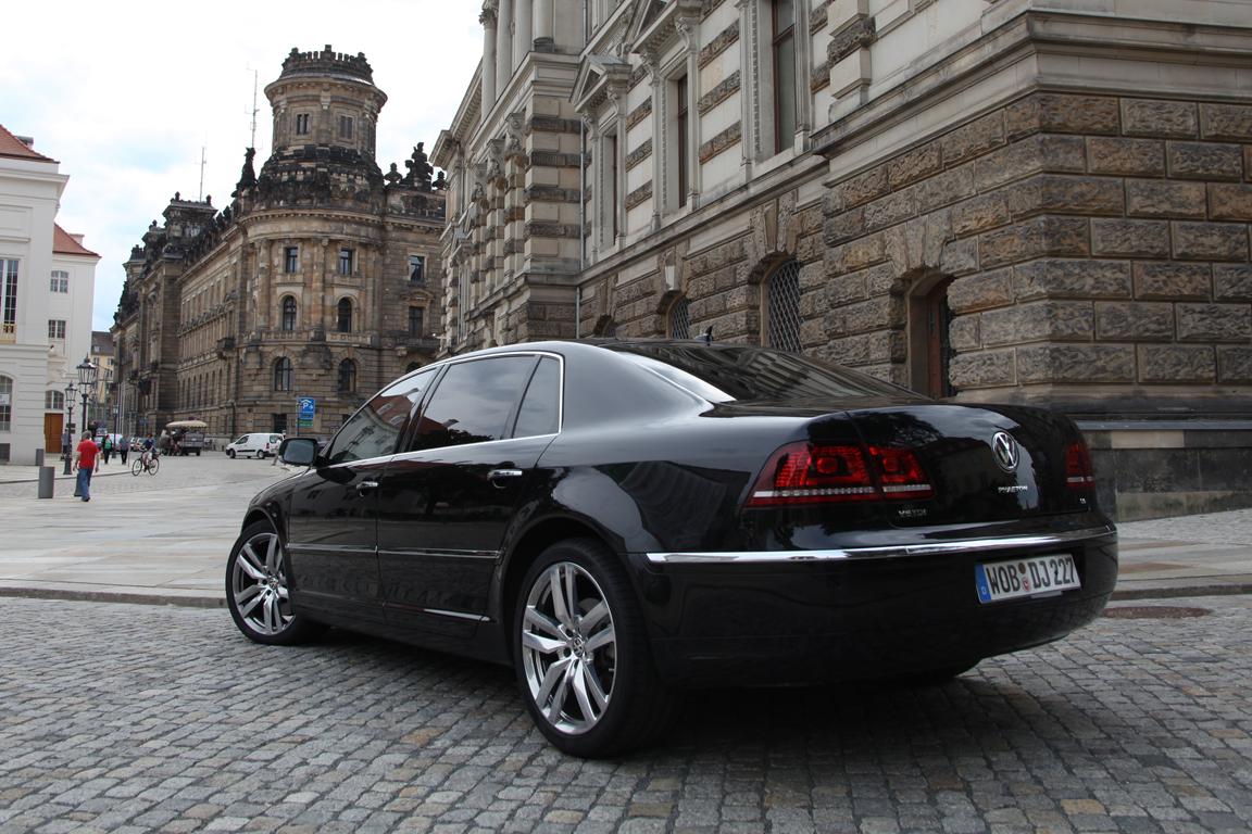 Volkswagen Phaeton: Дизельное сердце великана