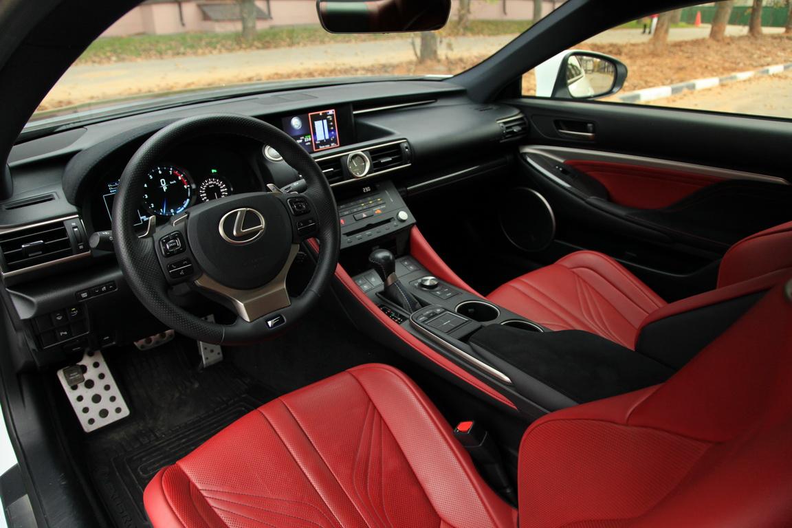 Lexus RC F: По-немецки японский.
