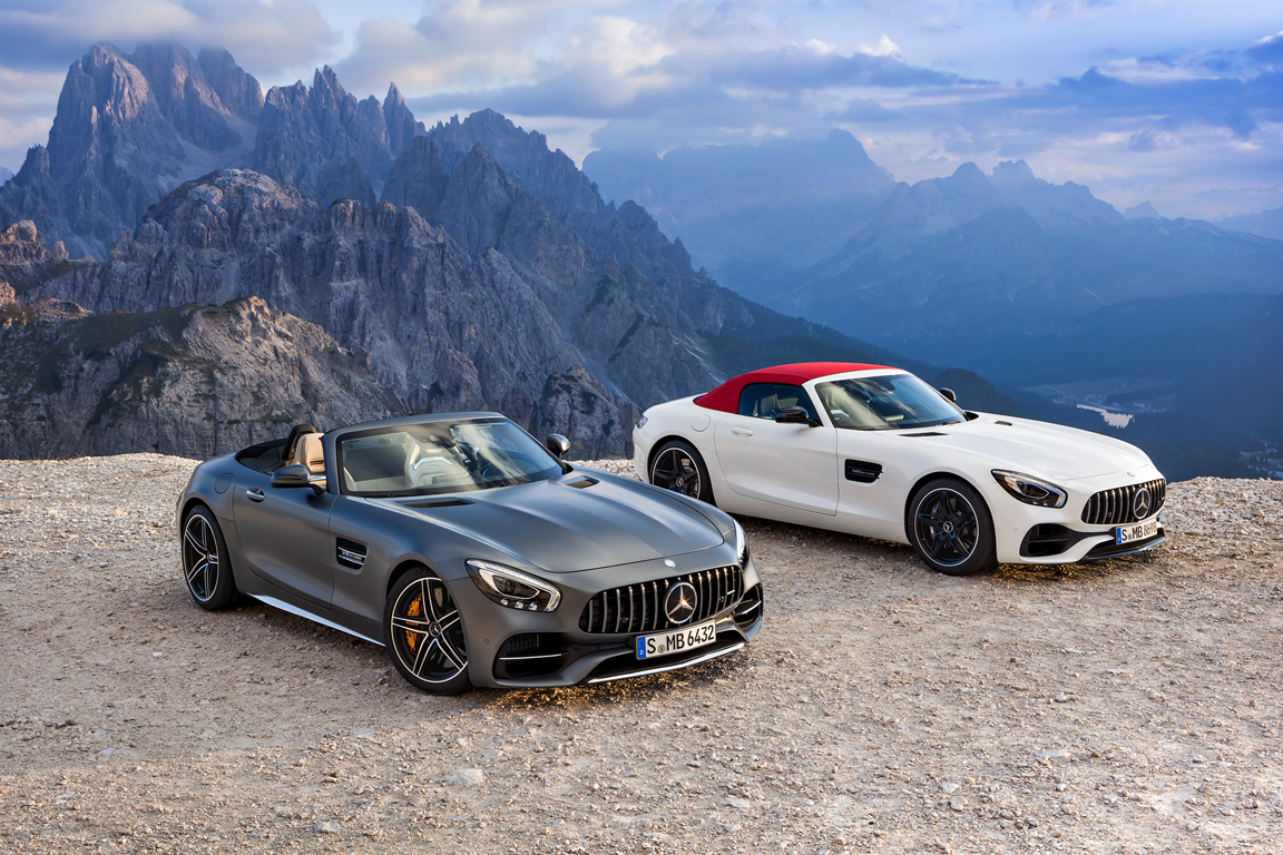 Mercedes-Benz AMG GT roadster 2017