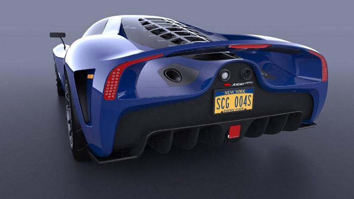 Представлен новый 650-сильный суперкар SCG 004S