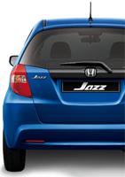 Honda Jazz Backside