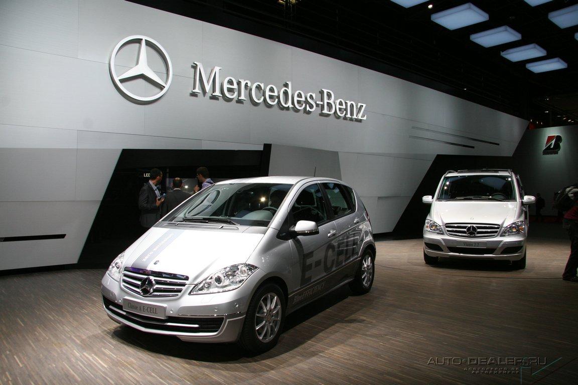 Mercedes-Benz на Парижском автосалоне