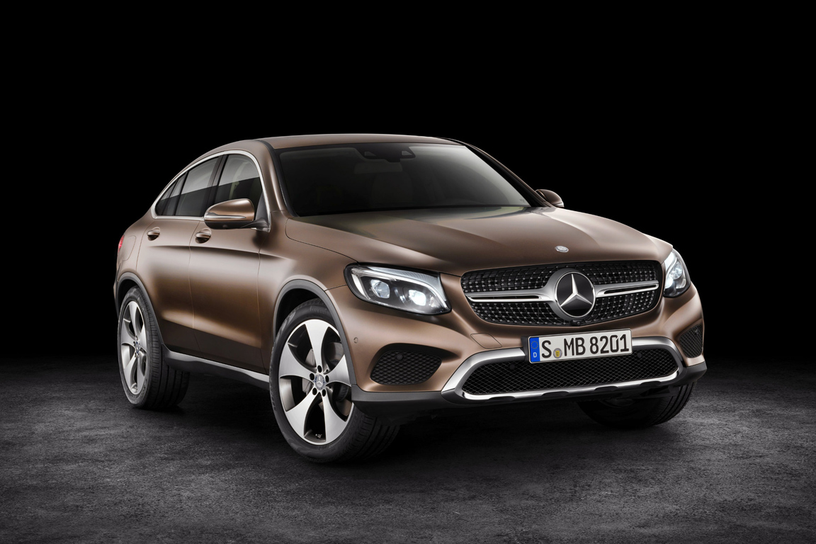 Mercedes-Benz GLC Coupe 2016
