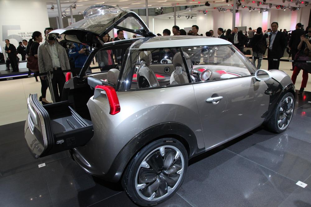 Шанхайская премьера эксклюзивного Mini