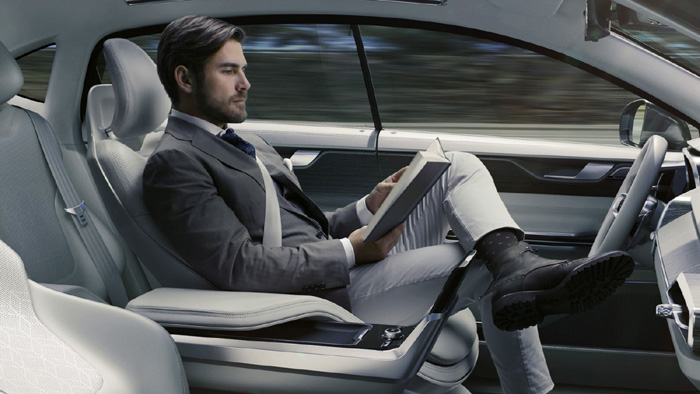 автопилот Volvo