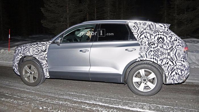 Volkswagen тестирует новый Touareg в Швеции
