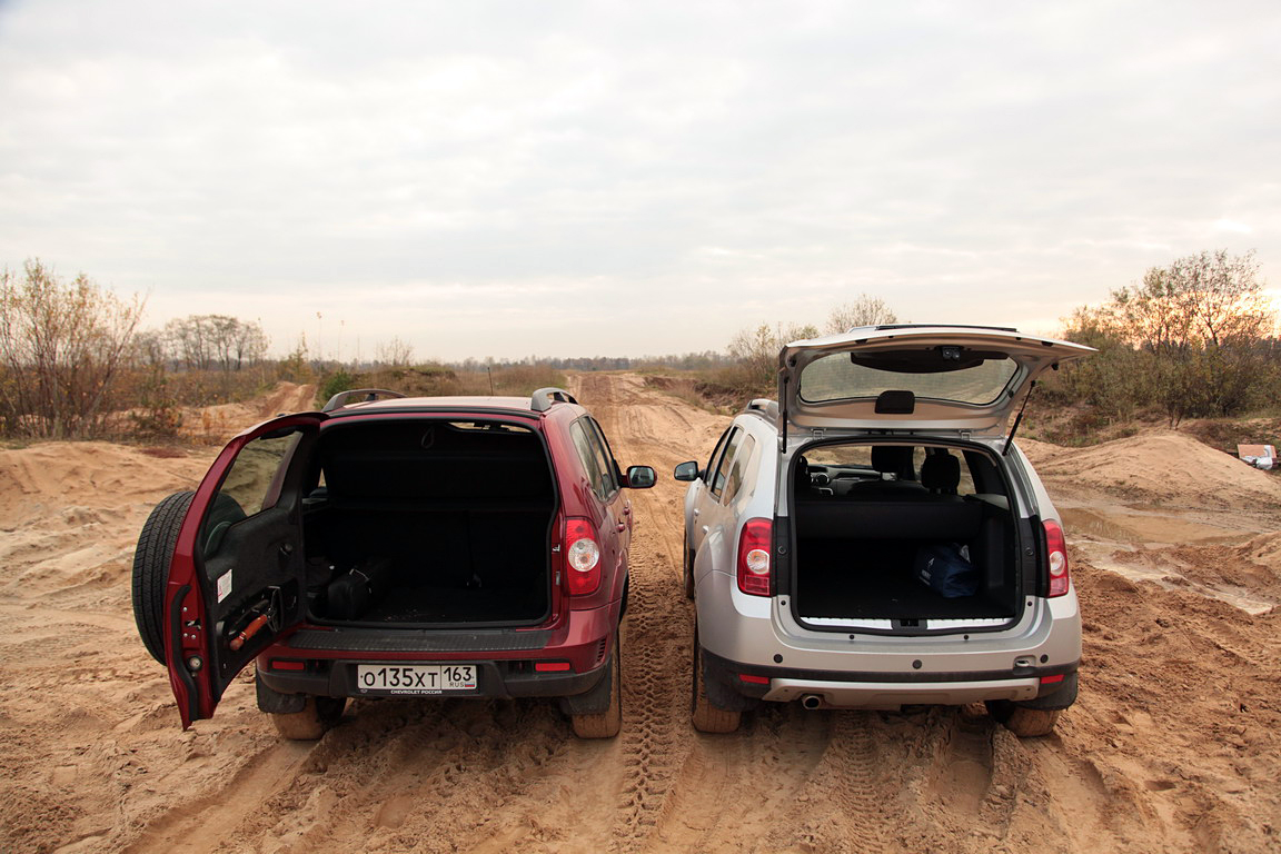 Renault Duster vs Chevrolet Niva: что круче?