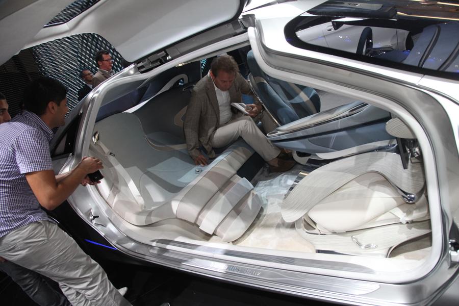 Mercedes-Benz на автосалоне во Франкфурте 2011