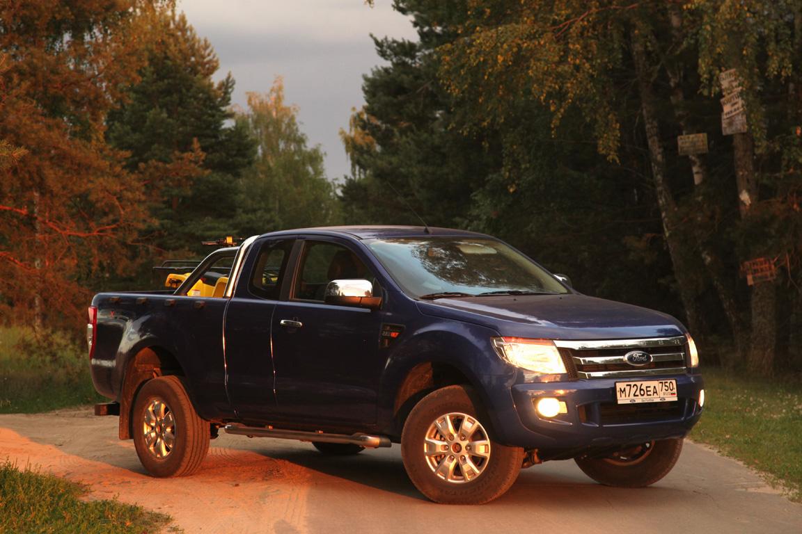 Ford Ranger: Помощник в доме