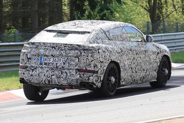 ВНюрбургринге тестируют новый кроссовер Lamborghini Urus