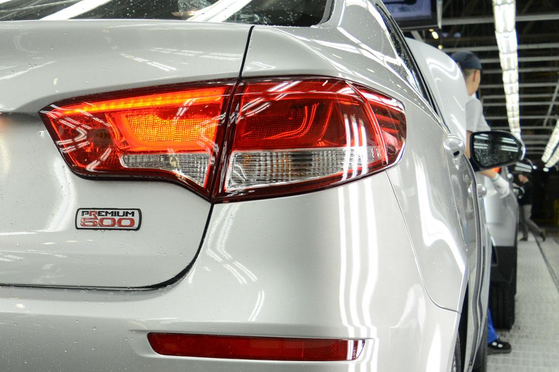 Kia Rio Premium 500: Бюджетный премиум