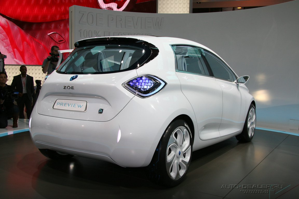 Renault на Парижском автосалоне