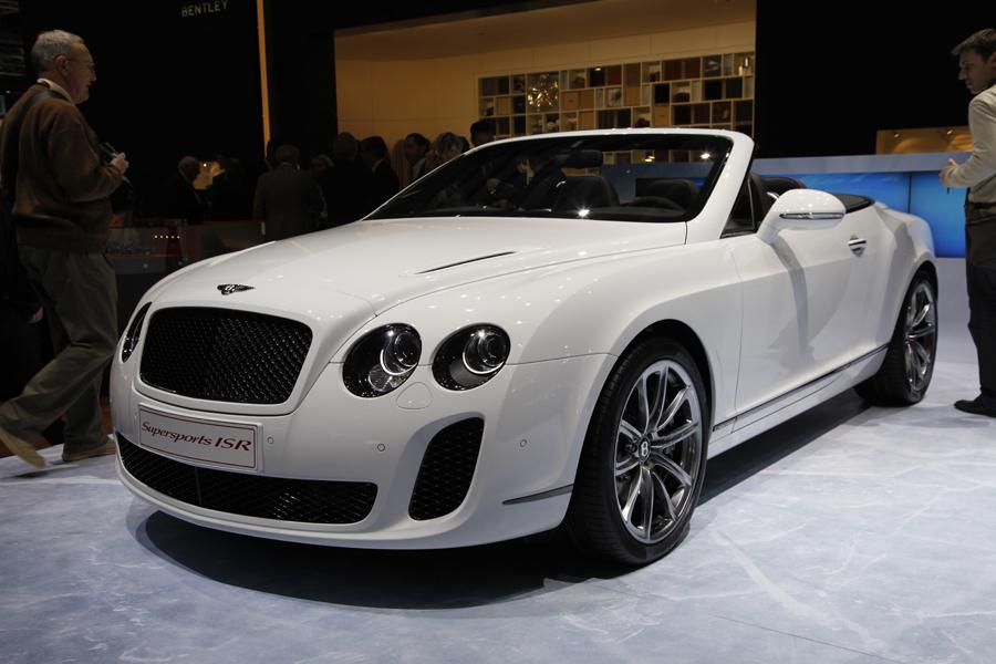 Bentley на Женевском Автосалоне