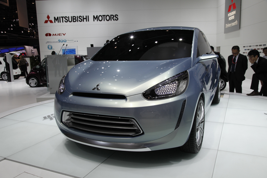 Mitsubishi на Женевском автосалоне