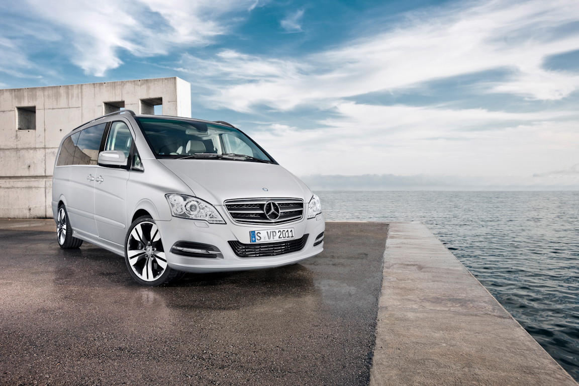 Mercedes-Benz Viano: Автобус бизнес класса