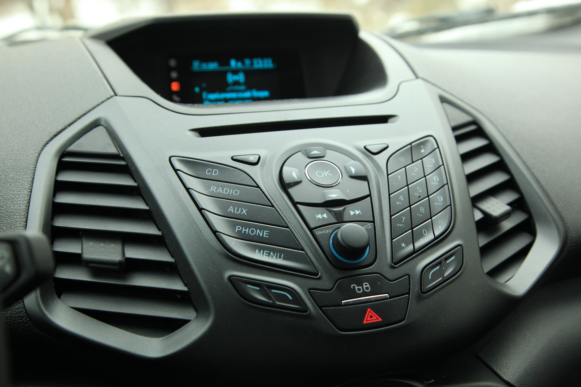 Ford EcoSport Медиасистема