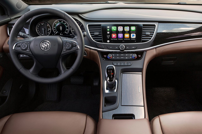 Создатели представили седан Buick LaCrosse Avenir сизмененным дизайном