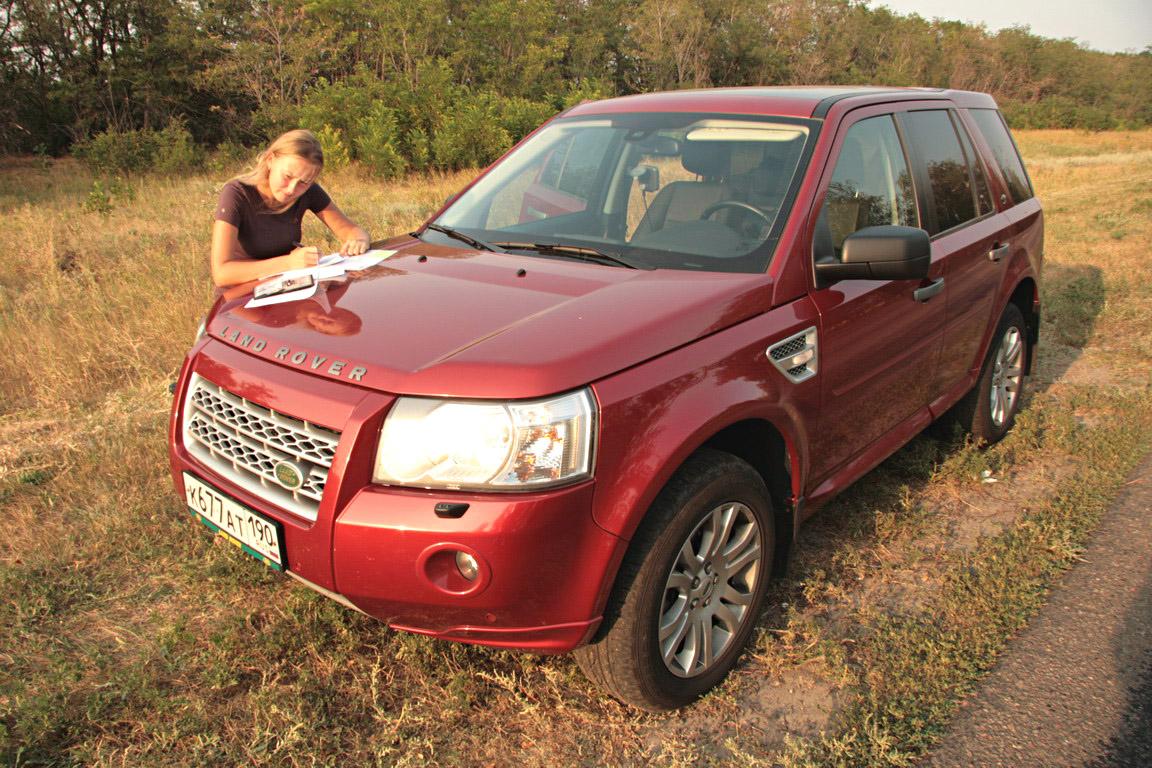 Land Rover Freelander II: Одна Крымская история