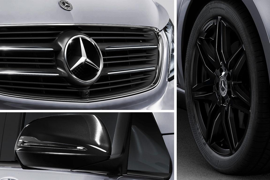 Mercedes V-Class Night Edition оценили врублях