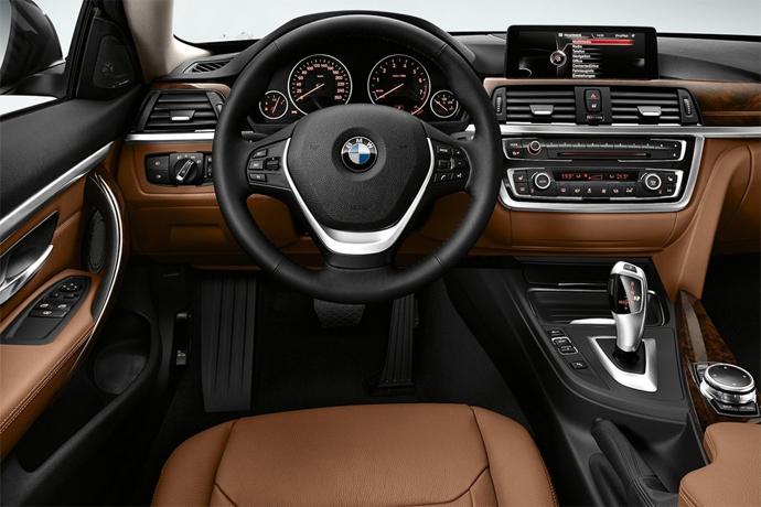BMW 4 series coupe interior
