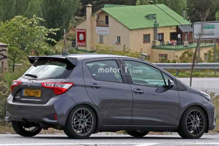 Toyota тестирует практичную версию Yaris GRMN