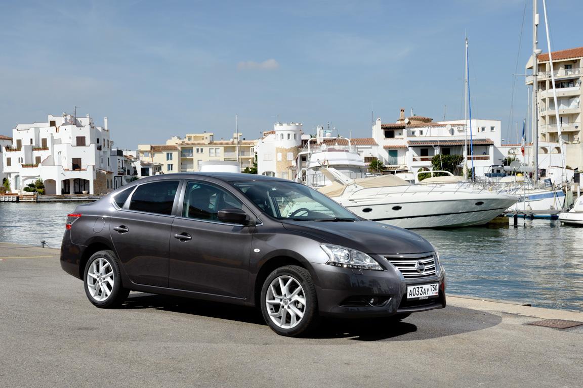 Nissan Sentra: Интернационалист
