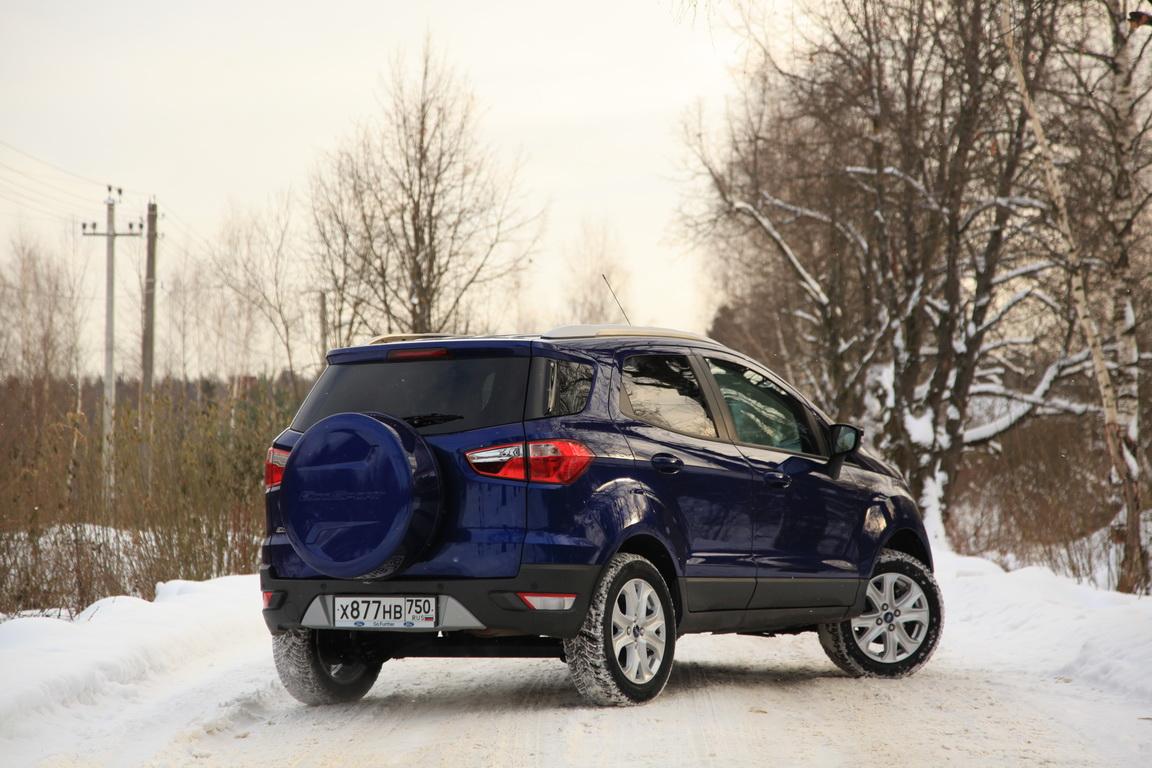 Ford EcoSport: Мал, да удал