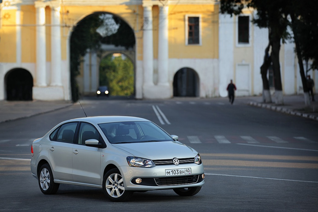 Volkswagen Polo Sedan: Сделано в России