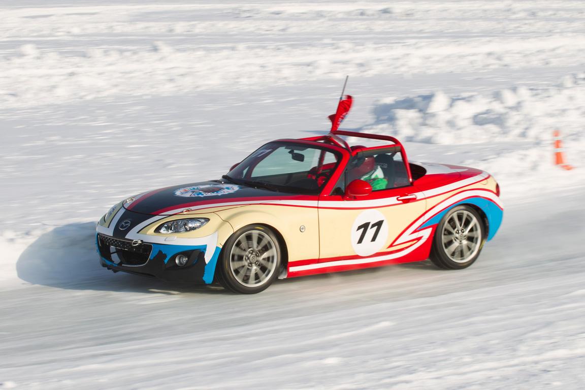 Mazda Ice Race: Горячий лед