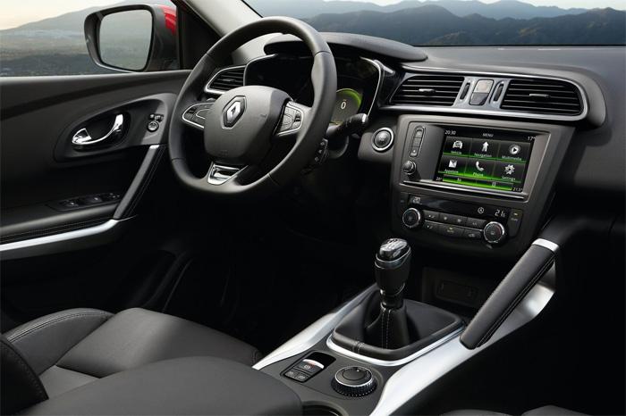 Renault Kadjar Рено Каджар 2015 Интерьер