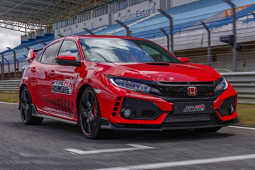 Honda Civic Type R побил рекорд трека Эшторил