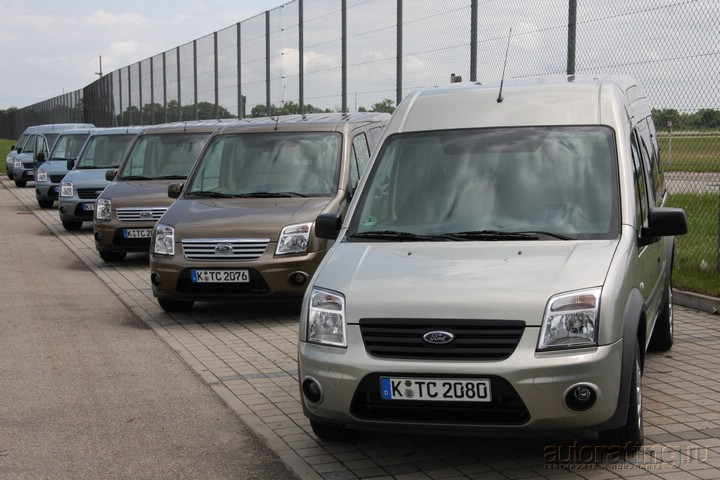 Ford Transit / Tourneo Connect: не уступая минивэну