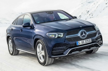 Mercedes-Benz GLE Coupe стал экономичнее