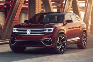 Volkswagen Atlas Cross Sport показали в Нью-Йорке